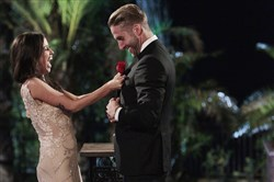 "Kaitlyn Bristowe and Shawn Booth appear on the season finale of ""The Bachelorette,"" where she chose the 29-year-old personal trainer."
