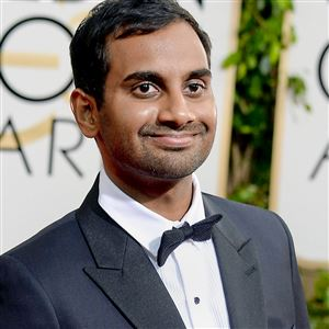 Actor-comedian Aziz Ansari, the target of a controversial blog post by a woman who went on a date with him.
