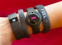 """Activity trackers may undermine weight loss efforts."" ""Wearable activity trackers may not boost weight loss."" ""Fitness trackers didn't help people lose weight."""