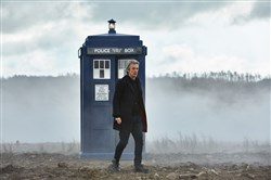 "Peter Capaldi stars in ""Doctor Who."""