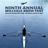 Those who bike or kayak to the Millvale Brew Fest Saturday will get a free poster designed by artist Thomas Walker.
