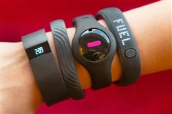 Four fitness trackers: Fitbit Force, Jawbone Up, Fitbug Orb and the Nike FuelBand SE monitor much more than how many steps you take.