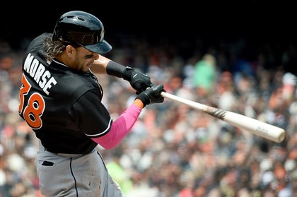 Michael Morse, 33, is making $7 million this year and is under contract for $8 million in 2016.