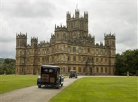 "Highclere, which played the Crawley home for six seasons on the PBS series ""Downton Abbey."" In January, the series will begin it's final season."