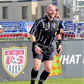 Soccer referee T.J. Zablocki is a West Mifflin grad who has officiated matches at just about every level.