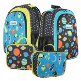 These bags by CHOOZE ($39.95-$43.95 at www.choozeshoes.com; lunchboxes sold separately) are reversible by simply flipping the convertible straps.
