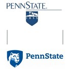 About 300 faculty, staff and administrators guided by an Identity Advisory Council worked on the change from Penn State's old mark, above at top, to the new one.