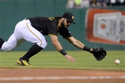 Sean Rodriguez in catcher's gear? These are the kind of nightmare scenarios teams think about before heading into the postseason.