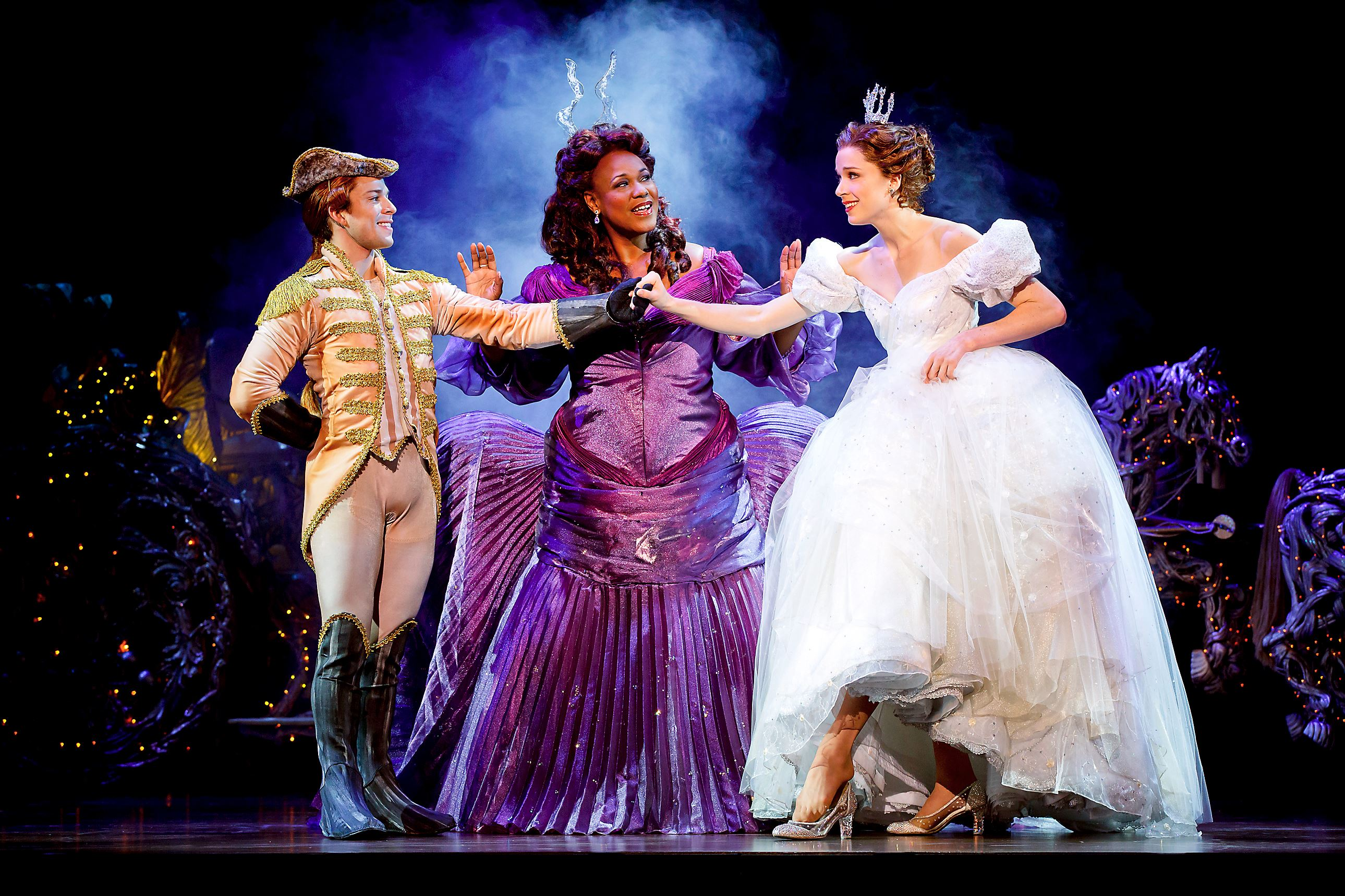 rodgers and hammerstein s cinderella and disney s Now, this adaptation of rodgers & hammerstein's cinderella was developed for  the revival of the wonderful world of disney on abc and with.
