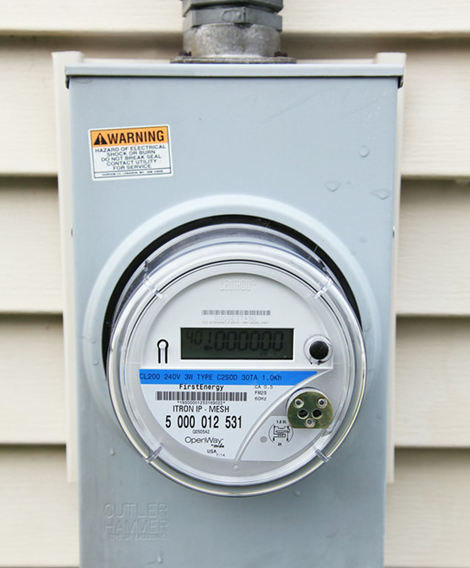 Electric Power Meter : Surveillance society new electric meters can report usage
