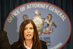 Montgomery County prosecutors have charged Pennsylvania Attorney General Kathleen Kane with perjury, obstruction and other counts.