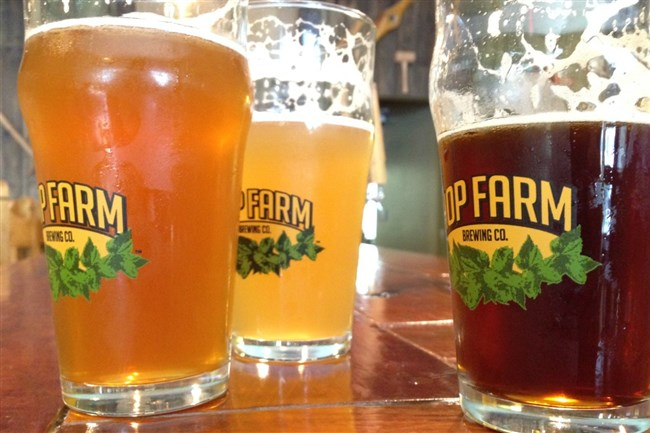 Hop Farm Brewing Co. in Lawrenceville is hosting a five-course beer-pairing dinner for Father's Day.