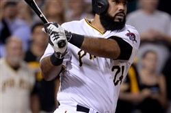 Though Pedro Alvarez is leading the Pirates with 20 home runs this season, he is also the league leader in errors at first base.