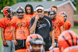 Beaver Falls football coach Ryan Matsook is happy his team has a week off during the playoffs.