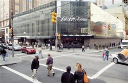 The property where Saks Fifth Avenue was located will be redeveloped.