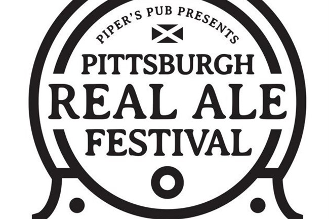The logo for the Pittsburgh Real Ale Festival.
