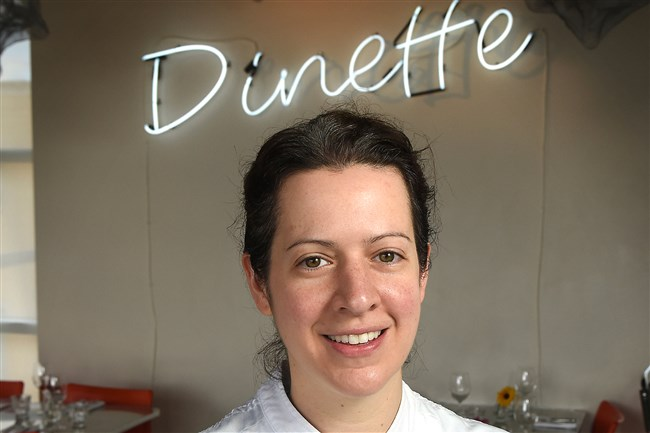 Sonja Finn of Dinette in East Liberty was among a group that spoke with lawmakers in Washington, D.C., last month.