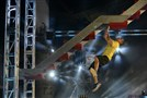 "Kennedy's Ron Schmidt tackles the Devil Steps in the Pittsburgh finals of NBC's ""American Ninja Warrior."""