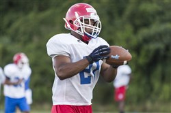 McKeesport Area senior running back Khaleke Hudson will have his hands on the ball a lot this season.
