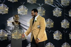 Pittsburgh Steelers legend Jerome Bettis didn't make the Pro Football Hall of Fame in his first four years of eligibility, and a project from the team's new analytics director, Karim Kassam, may have made the difference.