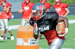 West Allegheny running back Terence Stephens has rushed for 1,332 yards on 191 carries the past two seasons.
