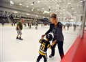 Fans get a chance to skate on the ice at the new UPMC Lemieux Sports Complex in Cranberry.