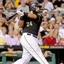 The Pirates' Pedro Alvarez has 21 homers and 66 RBIs this season.