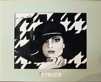 Some dispute that this rendering of Coco Chanel was done by Andy Warhol. It sold at auction Aug. 8.