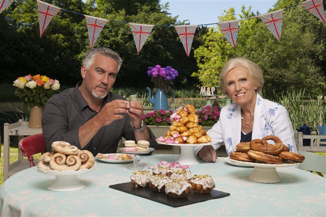 "Let the baking begin! Judges Paul Hollywood and Mary Berry are back for PBS's ""The Great British Baking Show,"" beginning Sept. 6."