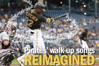 Pirates' walk-up songs, reimagined