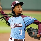 Mo'ne Davis captured the imagination of the sports world last August in Williamsport.