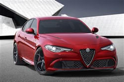 The Alfa Romeo Giulia sedan is expected to be in Pittsburgh sometime next year.