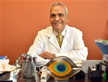Dr. Jash Sharma president and CEO of CIMA Life Sciences in Plum. The company produces lenses used in cataract surgery.