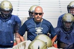Franklin Regional coach Greg Botta has seen plenty of film on Armstrong standout Zane Dudek, and hopes to have a defensive plan to slow him down.