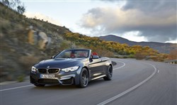 The 2015 BMW M4 Convertible