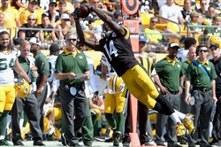 Rookie receiver Sammie Coates is no substitute for Martavis Bryant at this point, but the Steelers might need him early this season.