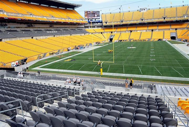 Steelers Score A Td With Heinz Field Renovations