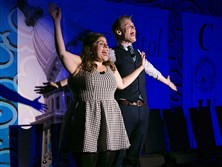 "Bethel Park native Adam Schreck, a performer with ""Second City: Fully Loaded,"" with Jo Feldman, will perform at the O'Reilly Theater, Downtown, this weekend."
