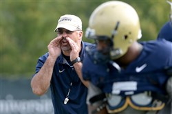 """If our kids aren't nervous on Friday night and Saturday morning, they probably aren't ready to play,"" Pitt head coach Pat Narduzzi said."