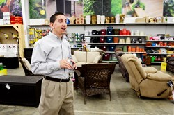 In this 2014 photo, Joe Kallen, CEO of Busy Beaver, is seen in the company's New Kensington store.