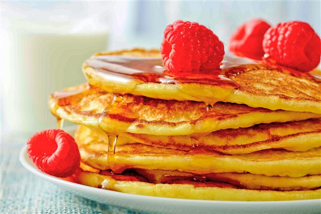 Protein-Packed Pancakes.