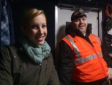 Alison Parker and Adam Ward together.