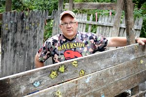 "The Pittsburgh Housing Authority is suing Neil ""Buddy"" Wright to kick his paintball business, Riverside Renegades Paintball, off its property, which he has used since 1988. Mr. Wright's lawyer argues that the legal doctrine of ""adverse possession"" allows Mr. Wright to claim ownership of the property."