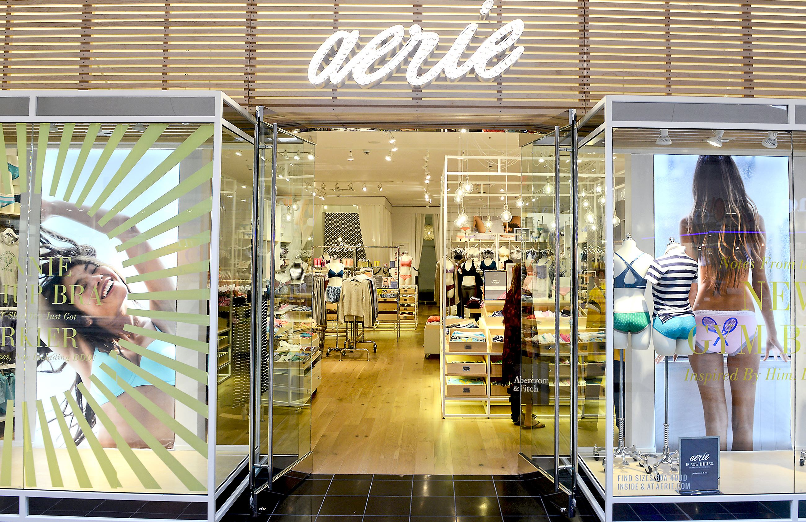 American eagle banking on more growth for aerie division for Michaels craft store corporate office