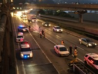 Morning commuters faced traffic backups on the Parkway East inbound after a multi-vehicle crash at the Boulevard of the Allies ramp to I-579. At least two people were injured.