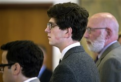 Former St. Paul's School stu­dent Owen Labrie was found not guilty Fri­day of the most se­ri­ous charges against him in a sex as­sault case that has scan­dal­ized the New Hamp­shire prep school.