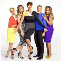 """FABLife"" on WPXI will feature, from left, Leah Ashley, Chrissy Teigen, Tyra Banks, Joe Zee and Lauren Makk"