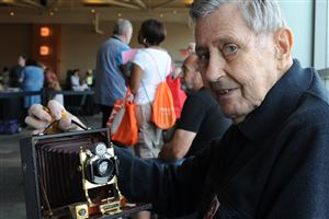Jack Welsh of Mt. Lebanon hopes to get his Century camera appraised. Mr. Welsh, who is a retired engineer, said the camera was made in 1895 and that he has no idea what the camera is worth.