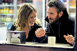 "Alice Eve and Chris Evans develop a friendship that draws them closer in ""Before We Go."""