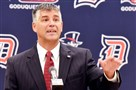 David L. Harper was introduced as the new athletic director at Duquesne University today.